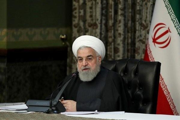 Tổng thống Hassan Rouhani hôm 4/3 khẳng định quốc gia Trung Đông sẽ vượt qua đợt bùng phát với số ca tử vong tối thiểu. Ảnh: Reuters.