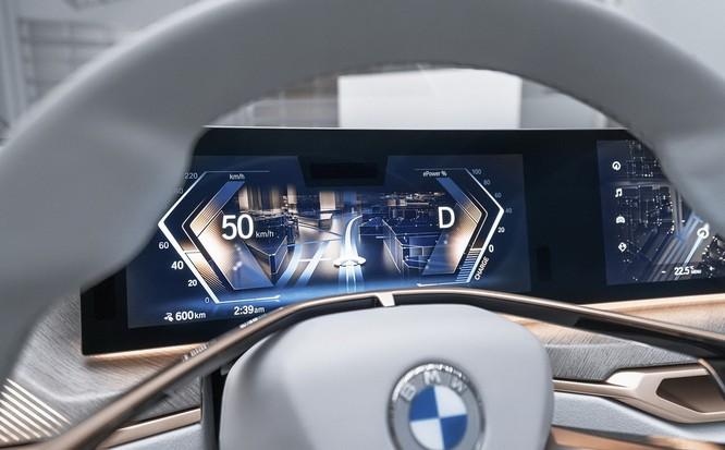 Concept i4 - tương lai xe điện của BMW ảnh 6