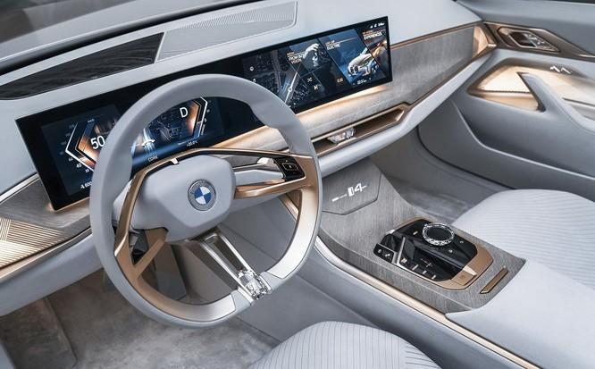 Concept i4. Ảnh: BMW