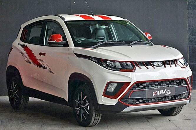 KUV 100NXT phiên bản động cơ xăng dành cho thị trường Ấn Độ.