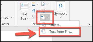 Cách gộp nhiều file tài liệu Word lại thành một ảnh 3