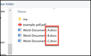 Cách gộp nhiều file tài liệu Word lại thành một ảnh 5