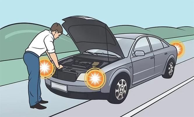 Cách xử lý tại chỗ khi ôtô báo quá nhiệt ảnh 5
