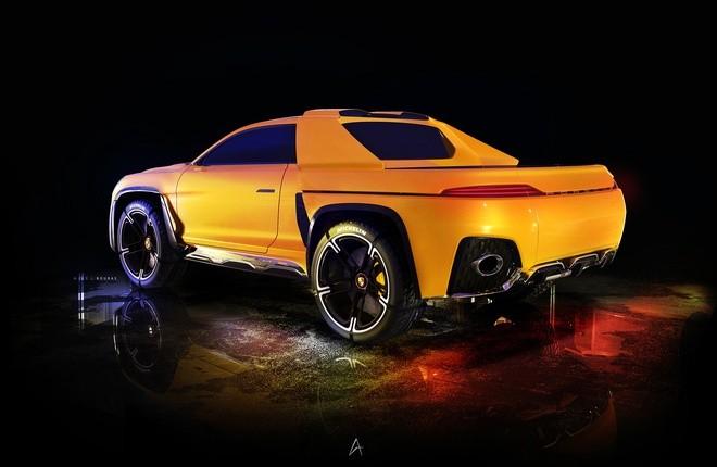 Xe bán tải của Porsche sẽ trông như thế nào? ảnh 3