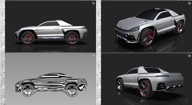 Xe bán tải của Porsche sẽ trông như thế nào? ảnh 4