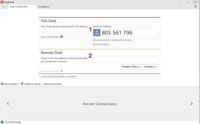 Mở file vừa tải về, chúng ta sẽ thấy 2 mục cơ bản để sử dụng được ngay.