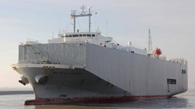 Tàu RO-RO chở khoảng 2.000 chiếc ô tô nhập khẩu từ Thái Lan sẽ dừng lại ở phao số 0 tại Hải Phòng để cơ quan chức năng kiểm dịch. Ảnh minh họa