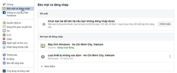 Cách đăng xuất tài khoản Facebook và Messenger khỏi tất cả các thiết bị ảnh 3