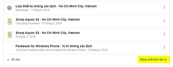 Cách đăng xuất tài khoản Facebook và Messenger khỏi tất cả các thiết bị ảnh 4