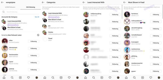 """Instagram sẽ hỗ trợ người dùng """"dọn dẹp"""" danh sách theo dõi, unfollow bớt cho đỡ """"loãng"""" feed ảnh 2"""