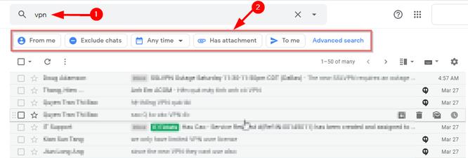 Cách tìm kiếm email Gmail siêu nhanh ảnh 2