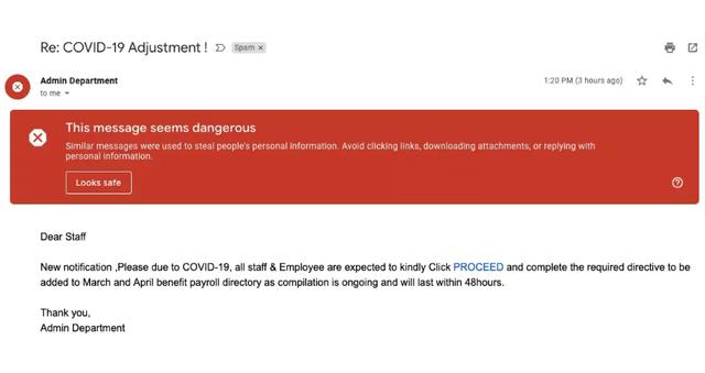 Google phát hiện hơn 18 triệu email lừa đảo liên quan đến Covid-19 mỗi ngày ảnh 2