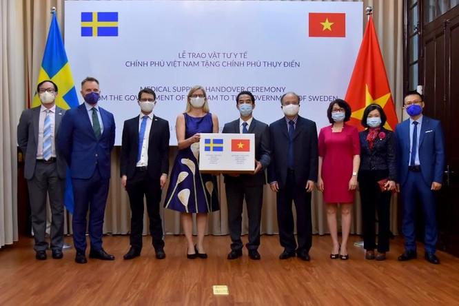 Đại sứ Thụy Điển Ann Mawe gửi lời cảm ơn tới Chính phủ và nhân dân Việt Nam.