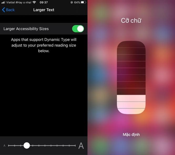 Mẹo tăng hoặc giảm nhanh cỡ chữ trên iPhone và iPad ảnh 4