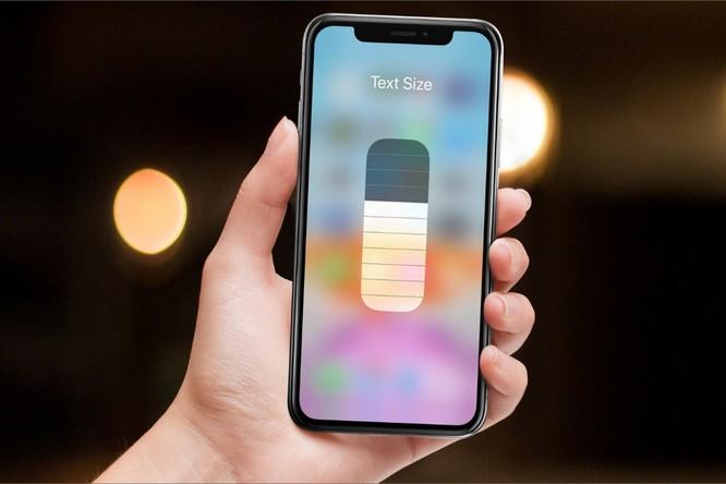 Mẹo tăng hoặc giảm nhanh cỡ chữ trên iPhone và iPad