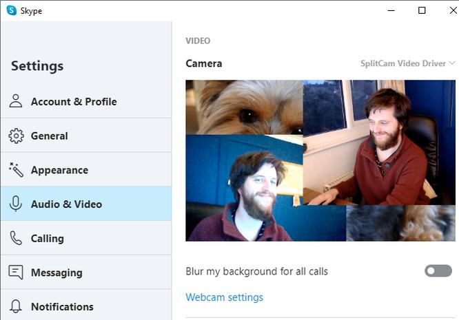 Cách sử dụng hai hay nhiều webcam cùng lúc khi họp qua Skype ảnh 7