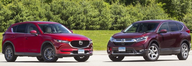 Mazda CX5 sẽ có ưu thế vượt trội so với đối thủ CRV nếu được hưởng biệt đại cho xe nội