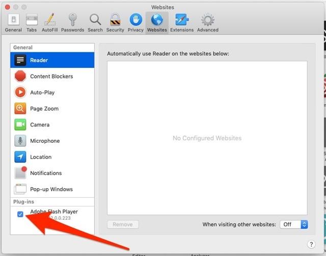 Cần làm gì khi Macbook bị lỗi Flash Player không hiển thị? ảnh 4