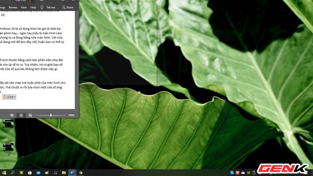 Windows 10 cũng có chức năng chia màn hình như trên macOS, thậm chí là đa năng hơn ảnh 8