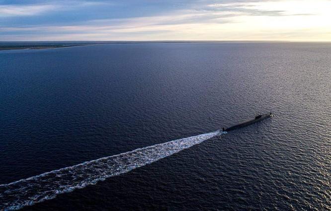 Tàu ngầm Knyaz Vladimir - ảnh Tass.