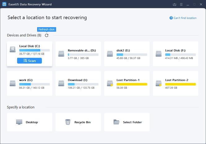 Hướng dẫn khôi phục dữ liệu dễ dàng với Easeus Data Recovery Wizard ảnh 3