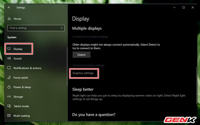 Cách thiết lập sử dụng Card màn hình mặc định cho từng ứng dụng trên Windows 10 ảnh 3