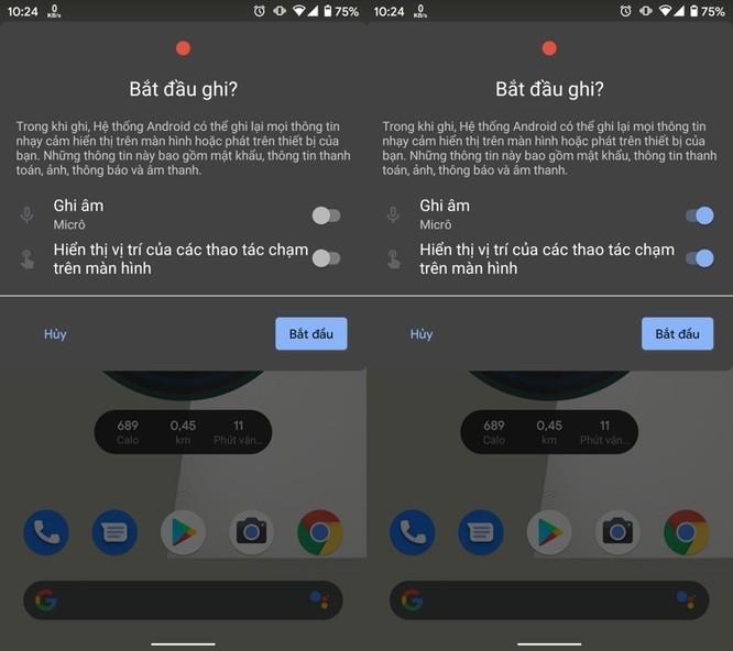 Cách quay phim màn hình trên Android 11 ảnh 4