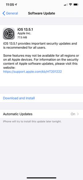 Apple ra mắt iOS 13.5.1, vô hiệu hóa công cụ jailbreak Unc0ver ảnh 2