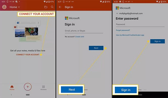 Cách thiết lập Microsoft Office cho Android