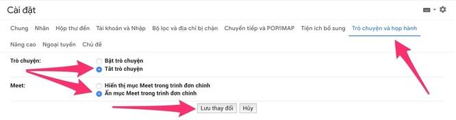Cách tắt vĩnh viễn khung Google Meet phiền phức trên Gmail ảnh 3