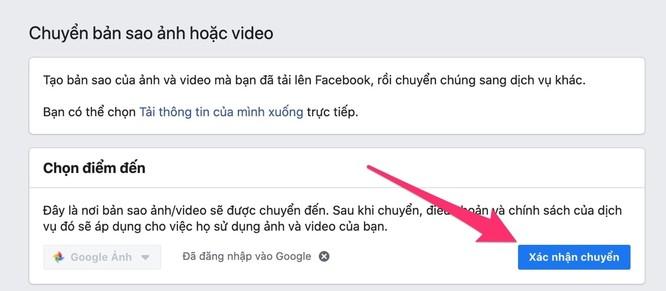 Cách sao lưu toàn bộ ảnh và video từ Facebook sang Google Photos ảnh 12