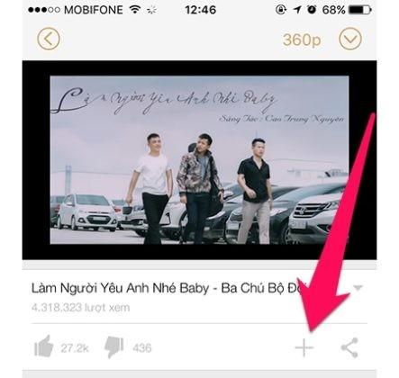 Hướng dẫn cách vừa nghe nhạc playlist trên Youtube vừa làm được việc khác dành cho iPhone ảnh 4