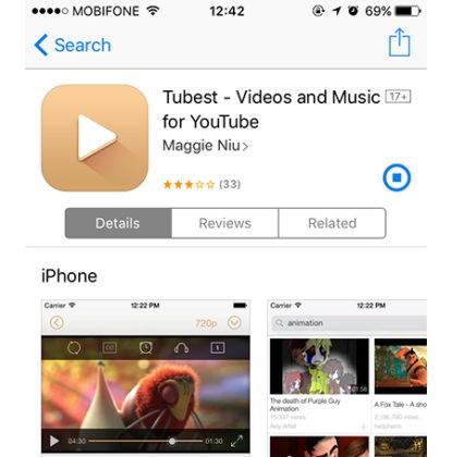 Hướng dẫn cách vừa nghe nhạc playlist trên Youtube vừa làm được việc khác dành cho iPhone ảnh 2