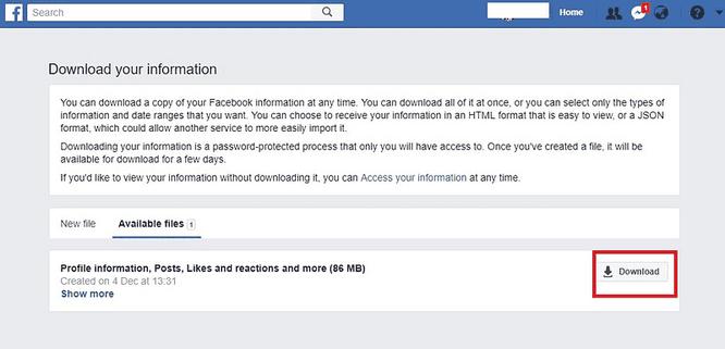 Cách khôi phục tin nhắn đã xóa trên facebook thật dễ dàng ảnh 3