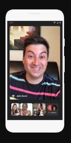 Đây là giao diện cuộc họp trực tuyến trên Meet.
