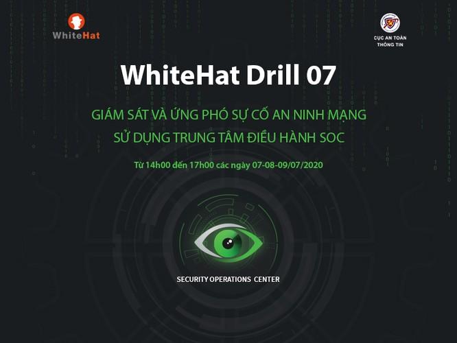 Hơn 100 đơn vị tham gia diễn tập an ninh mạng Whitehat Drill 07 ảnh 1