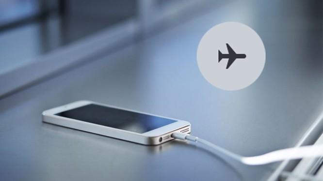 Khi để chế độ máy bay có thể tăng tốc độ sạc pin điện thoại