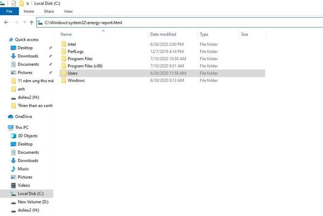 Mẹo kiểm tra pin laptop không cần sử dụng phần mềm bên ngoài ảnh 4