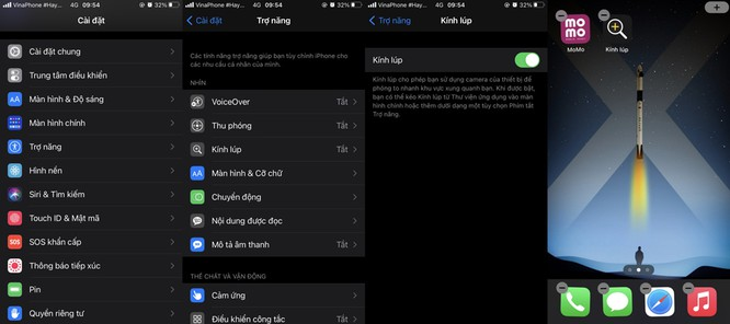 Mẹo truy cập nhanh tính năng Kính lúp trên iOS 14 ảnh 2