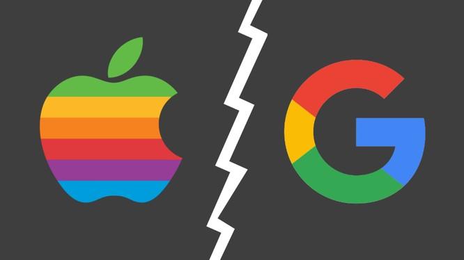 Apple và Google có thể không còn hợp tác ở mảng tìm kiếm. Ảnh: MSPowerUser.