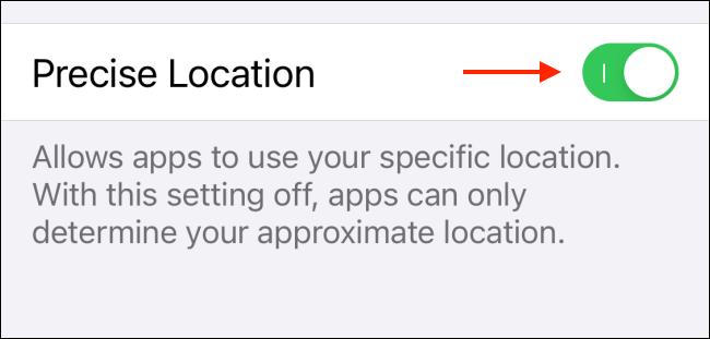 Cách tắt tùy chọn định vị chính xác của ứng dụng trên iOS 14 và iPadOS 14 ảnh 6