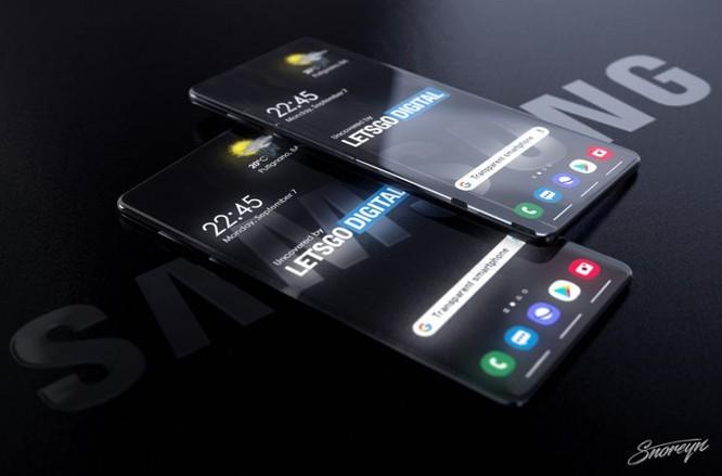 Samsung có thể ra smartphone trong suốt ảnh 2