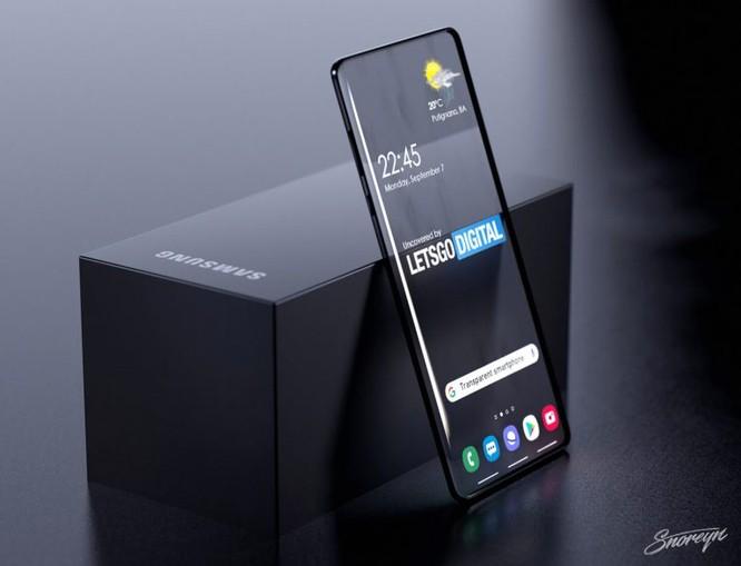 Samsung có thể ra smartphone trong suốt ảnh 3