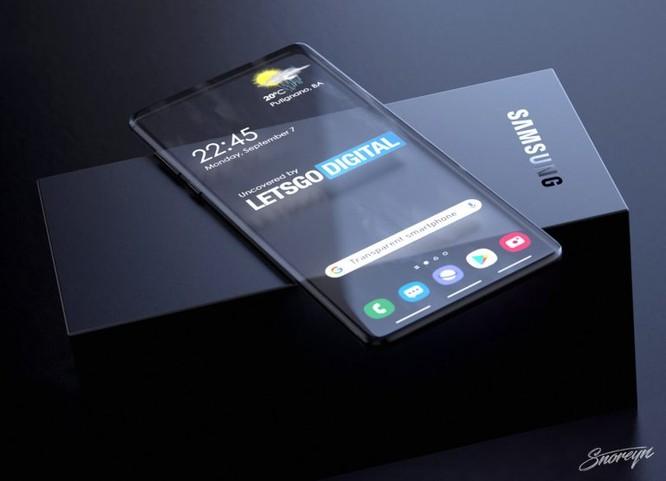 Samsung có thể ra smartphone trong suốt ảnh 4