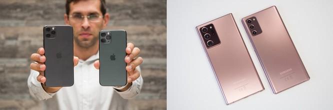 Apple và Samsung sẽ hưởng lợi nếu Huawei sụp đổ. Ảnh: PhoneArena.