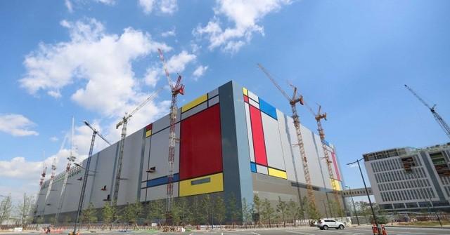 Nhà máy sản xuất chất bán dẫn của Samsung tại Pyeongtaek, Hàn Quốc.