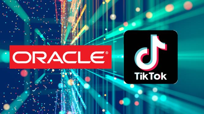 Chính phủ Mỹ có thể xem xét lại việc mua bán giữa Oracle và TikTok. Ảnh: Reuters.