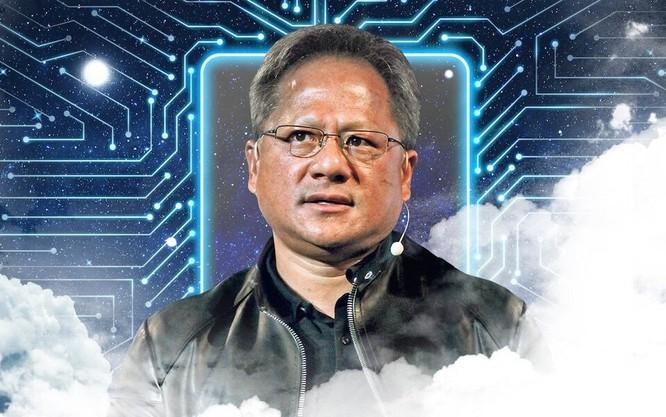 Jensen Huang - CEO của Nvidia. Ảnh: Telegraph.