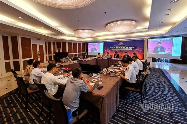Hội nghị bàn tròn lãnh đạo Công nghệ thông tin vừa diễn ra sáng nay tại Hà Nội. Ảnh: Trọng Đạt