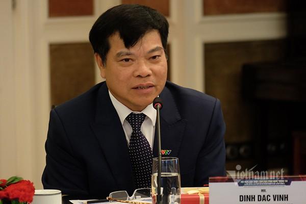 Theo ông Đinh Đắc Vĩnh - Phó TGĐ phụ trách CNTT Đài truyền hình Việt Nam, VTV thực hiện chuyển đổi số bằng cách cá nhân hóa dịch vụ cho khán giả xem truyền hình. Ảnh: Trọng Đạt